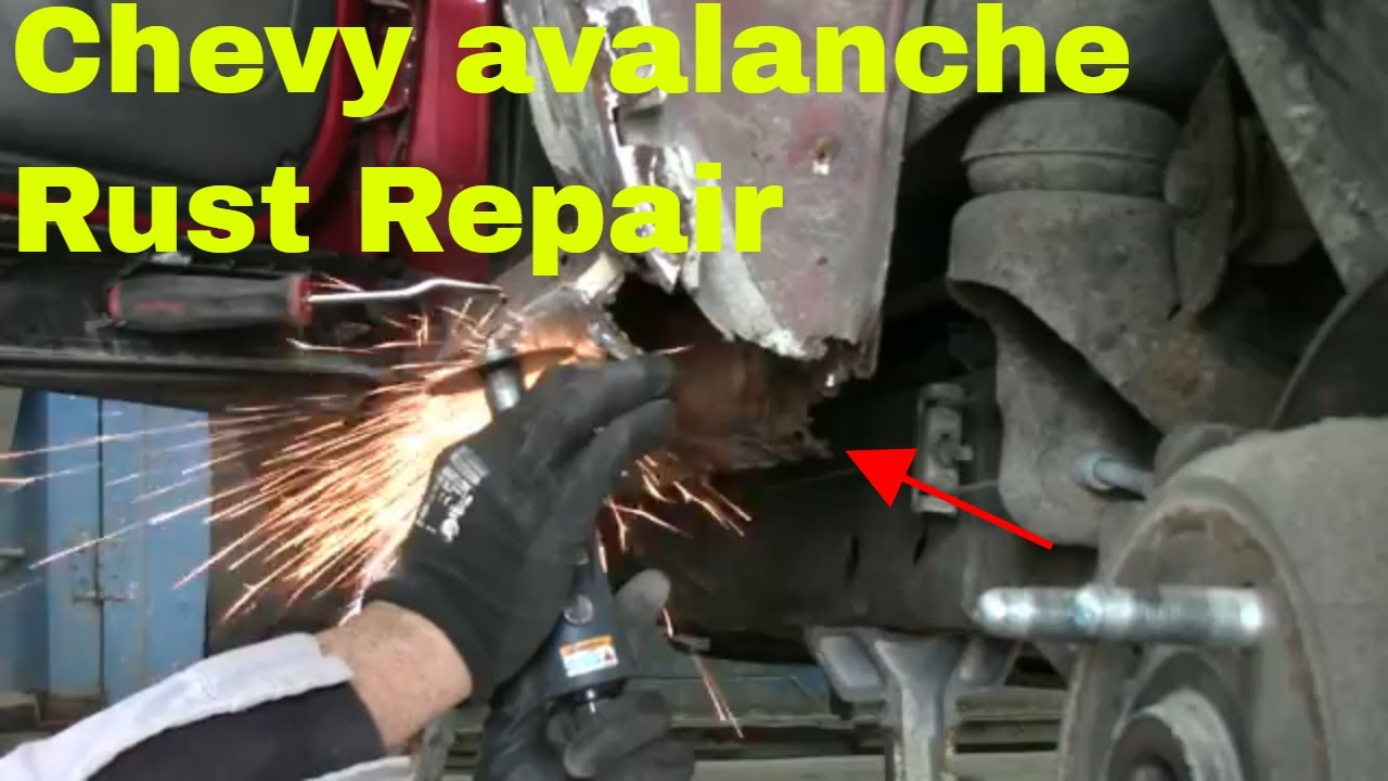 Chevy Avalanche rust repair Part 1