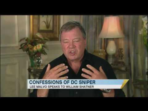 William Shatner's 'Confessions of the D.C. Sniper'