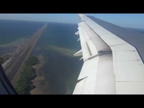 Landing in Tampa International Airport - TPA