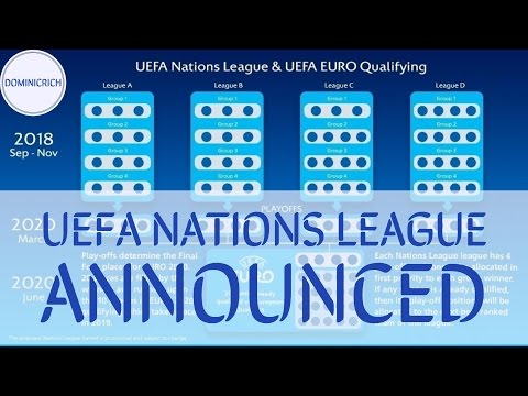 UEFA Announces The UEFA Nations League !!! Yay I'm Excited