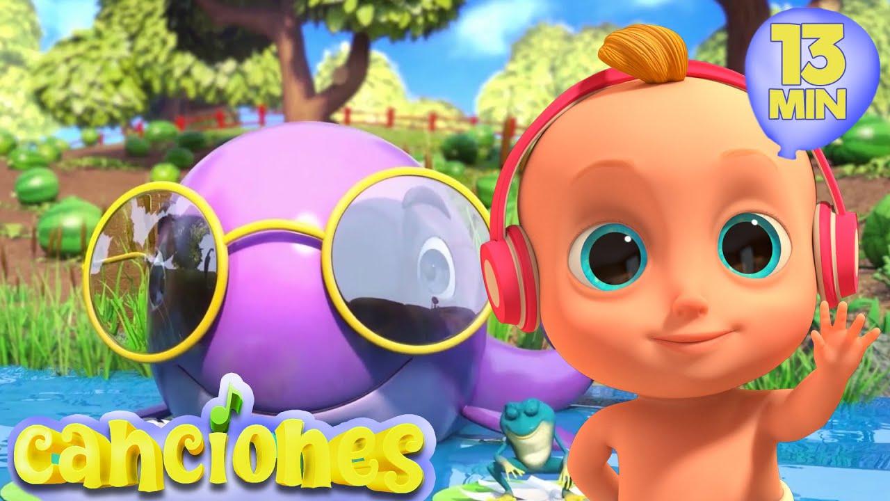 Las divertidas canciones infantiles - Las Mejores Canciones Infantiles | LooLoo