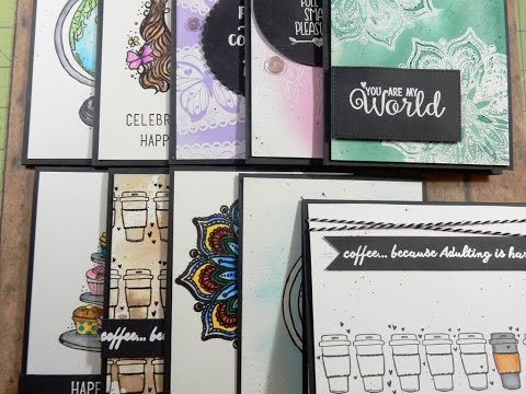 10 Cards 1 Kit | Unity Stamp Co KOM | Unexpected Places | February 2017