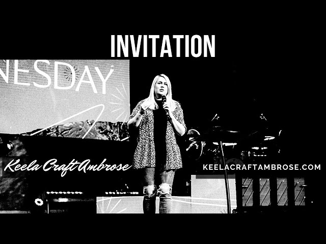 INVITATION - KEELA CRAFT AMBROSE