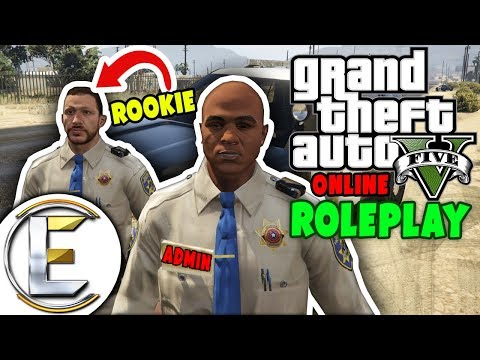 ADMIN Police Training For a ROOKIE | GTA 5 Roleplay (GTA RP)