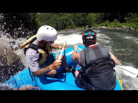 Whitewater Rafting Ohiopyle Lower Yough 2016