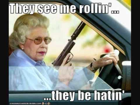 They see me rollin'... A funny compilation of images.