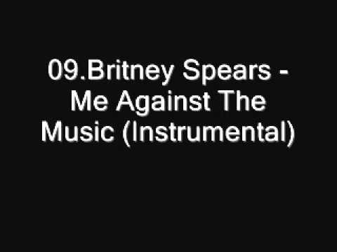 09.Britney Spears - Me Against The Music (Instrumental) [Download]