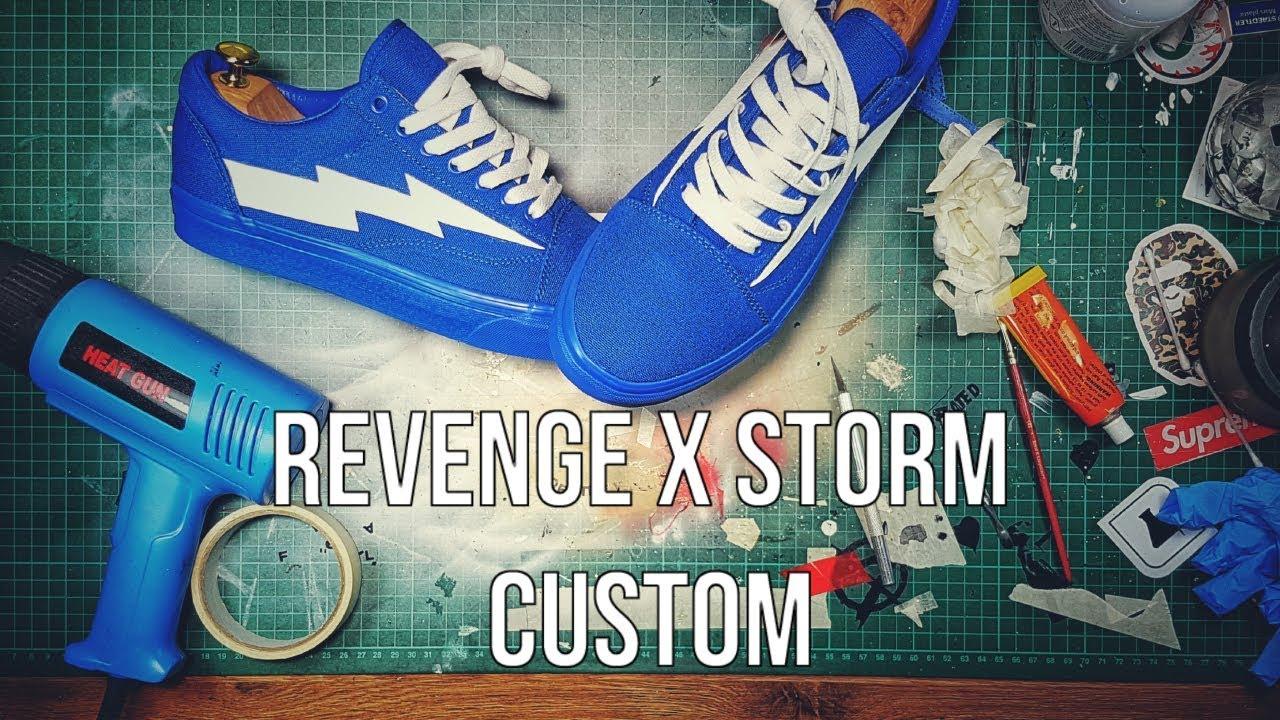 revenge storm vans