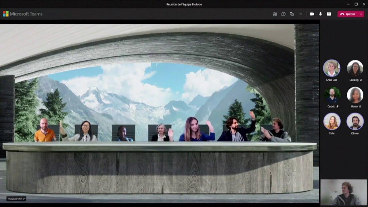 """Musique de la pub Microsoft Teams x Biotope """"ensemble on va plus loin""""  Juin 2021"""