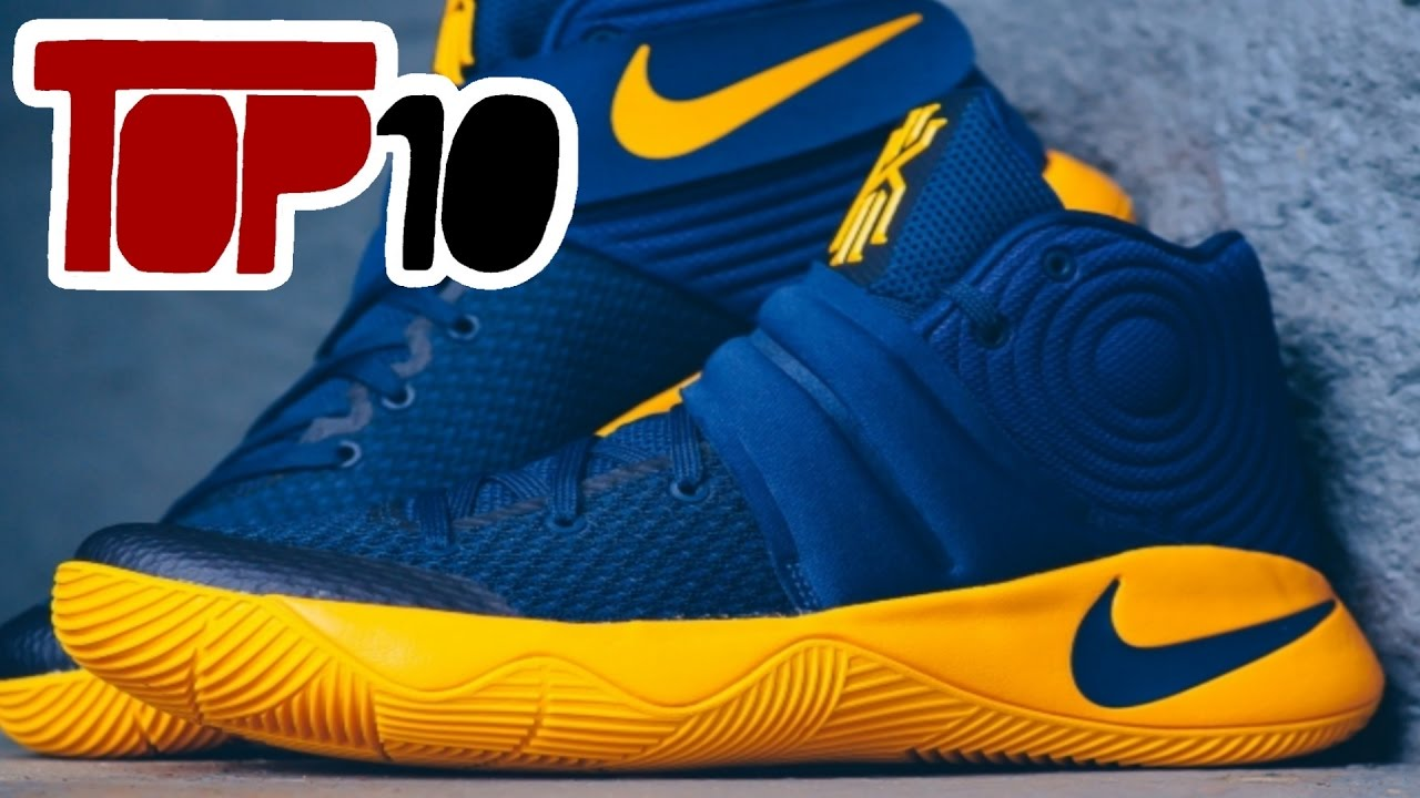 877546a0621d Top 10 Basketball Shoes Of 2016 - YouTube