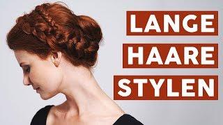 Frisuren für lange Haare: Styling-Ideen von den Stars