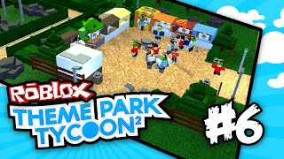 Theme Park Tycoon 2 #6 - FOOD FOR DAYZ (Roblox Theme Park Tycoon 2)