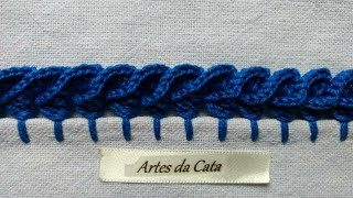 Aprenda a Fazer Bico em crochê