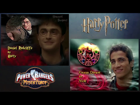 Harry Potter (Power Rangers: Mystic Force Style!) [Comparison Video]