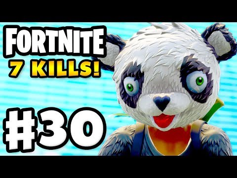 7 Kills as P.A.N.D.A. Team Leader! - Fortnite - Gameplay Part 30
