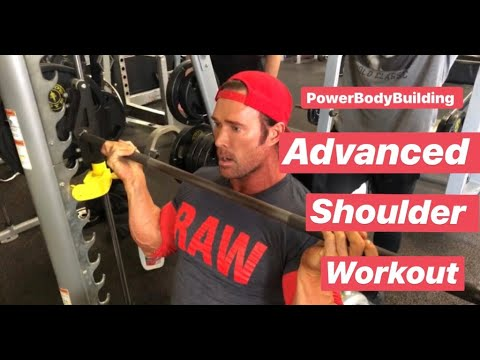 Advanced Shoulder Workout