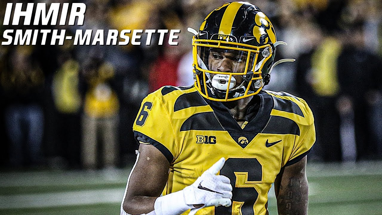 Most Versatile Playmaker in College Football   Ihmir Smith-Marsette Iowa Highlights ᴴᴰ