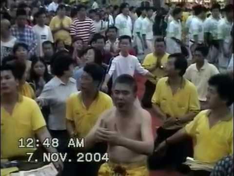新加坡三皇五帝乩童 festival 2004