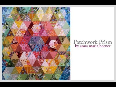 Anna Maria Horner + Janome: Patchwork Prism Quilt Project Highlights