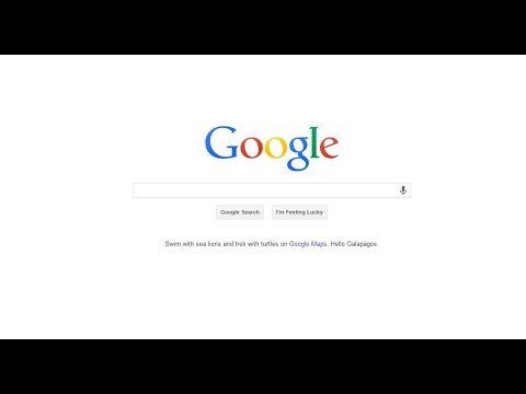 How to customize google homepage - YouTube