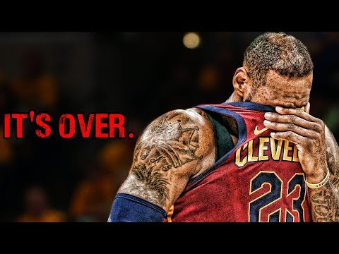 The reason that it's over for LeBron James and the Cleveland Cavaliers