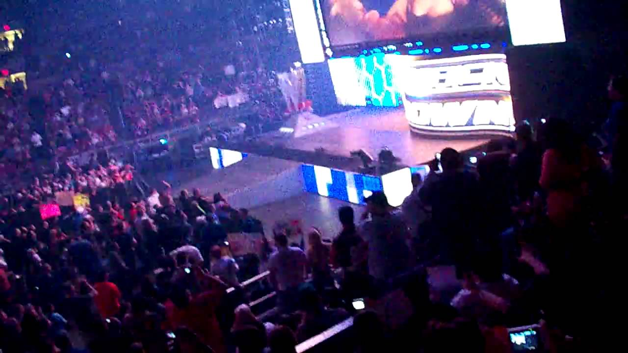 High Quality 4/28/09 Wwe Smackdown Intro Live Madison Square Garden Nyc Good Looking