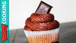 Chocolate Frosting Recipe 🍫 Perfect For Cakes And Cupcakes 🍰 Tasty Cooking
