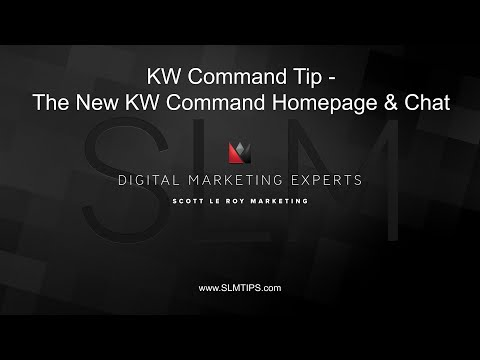 KW Command Tip - The New KW Command Homepage & Chat Section thumbnail