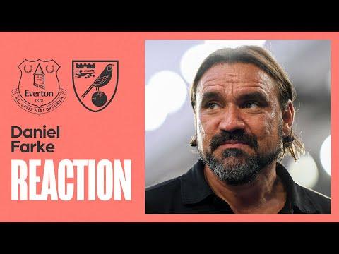 Everton 2-0 Norwich City | Daniel Farke Reaction