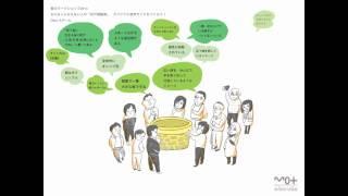 「井戸端鑑賞」オリジナル音声ガイド 靉嘔《田園》