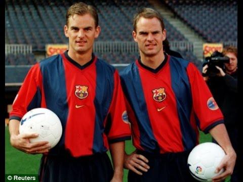 Football Legends ● Best Brothers In Football ● Frank & Ronald de Boer