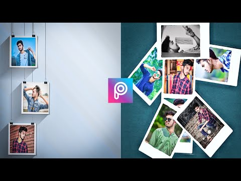How to Edit Polaroid Frame in picart || Picart Editing Tutorial Step by Step || SS Meher