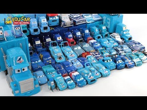 Thumbnail: Learning Color Number Special Disney Pixar Cars Lightning McQueen Mack Truck Blue for kids car toys