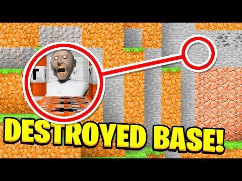 DESTROYING GRANNYS SECRET BASE! (Ps3/Xbox360/PS4/XboxOne/PE/MCPE: