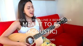 Meant to Be - (Bebe Rexha Acoustic Cover) | Julz Savard