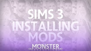 Sims 3: Installing Mods and .Sim files