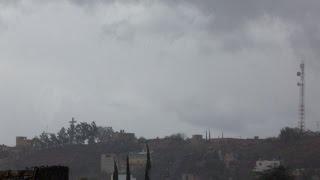 Nieve en Manuel Doblado Guanajuato
