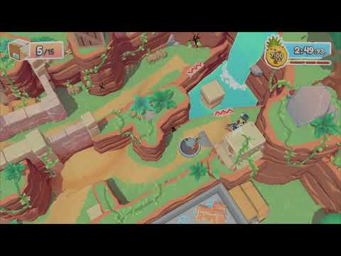 Mysterious Pathway (all bonus objectives) – Movers in Paradise (DLC) – Moving Out |