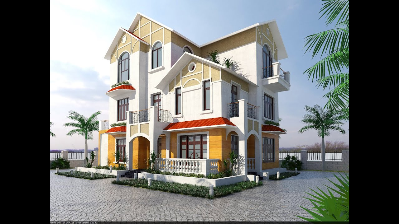 Sketchup vray 4 render ngo i th t bi t th youtube Vray render preset exterior download