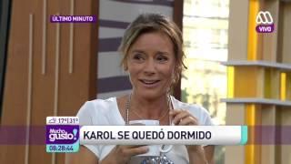 Karol en vivo desde la Ducha - Mucho Gusto