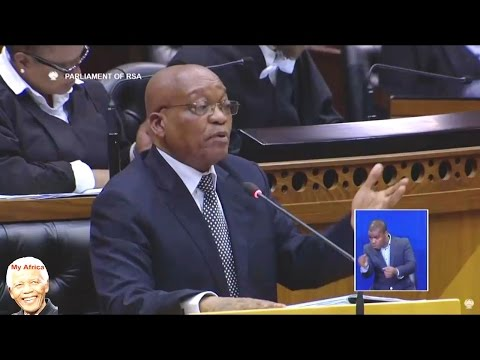 Bantu Holomisa vs Jacob Zuma In Parliament