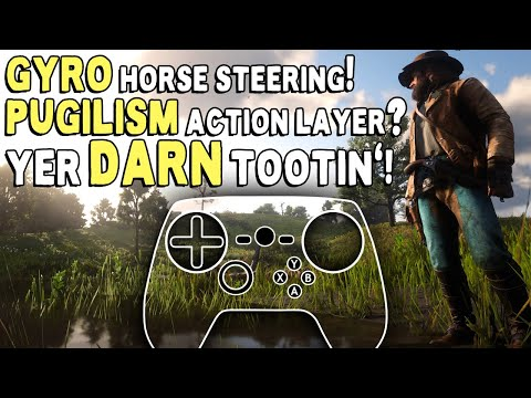 Red Dead Redemption 2 - Steam Controller Configuration Overview