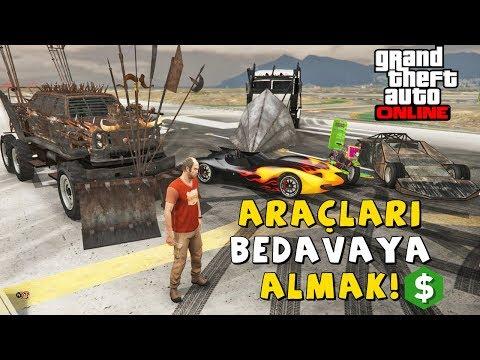 GTA 5 Online TÜM ARABALARI BEDAVAYA ALMAK! thumbnail