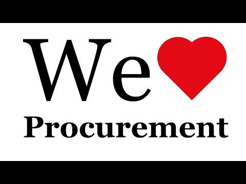 WE LOVE PROCUREMENT