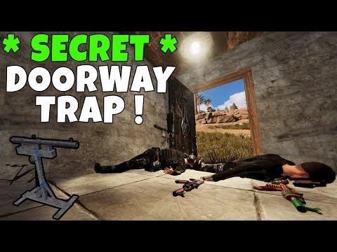 RUST | SHOTGUN DOOR TRAP BASE ! *Super Secret* thumbnail