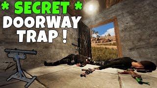 RUST   SHOTGUN DOOR TRAP BASE ! *Super Secret*