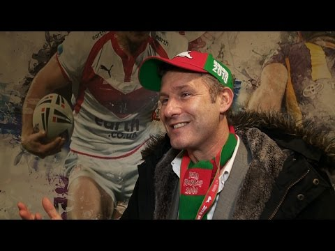 Adam Hills' favourite things about UK rugby league