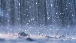 The sound of rain w/o music