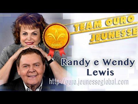 Historia Randy e Wendy Lewis, fundadores da Jeunesse, Português - Team OURO