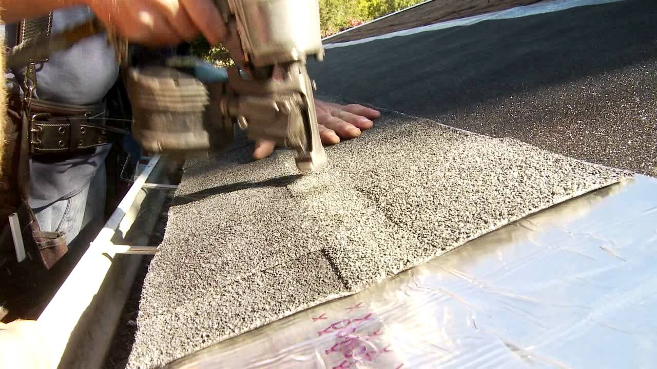 Ice Dam And Snow Melting Solution For Roofs Completely Invisible And Simple  To Install   YouTube
